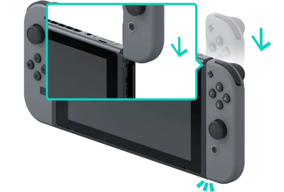 Attach Joy-Con