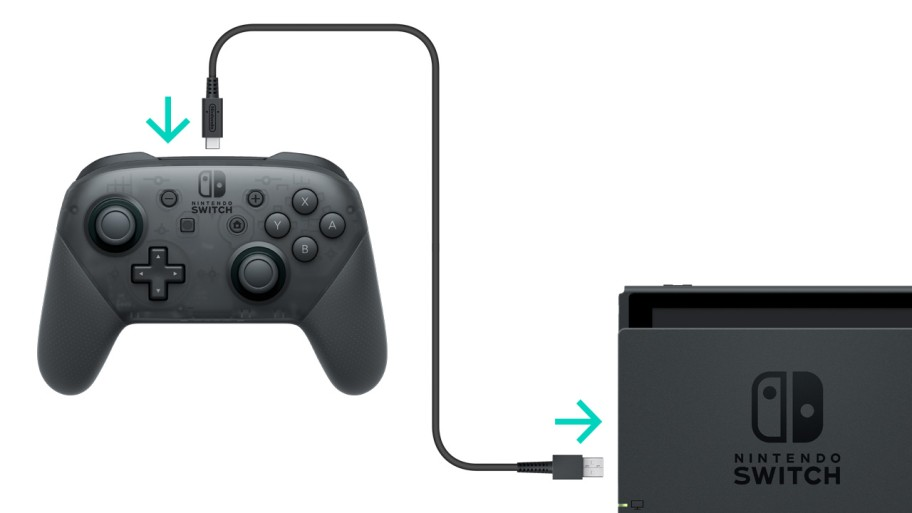 Connect Nintendo Switch Pro Controller