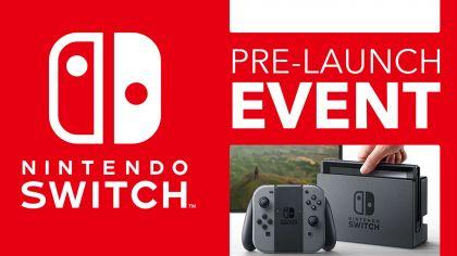 Nintendo Switch Pre-Launch Event Ruotsissa!